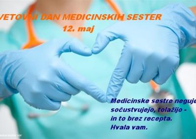 12. maj – Mednarodni dan medicinskih sester